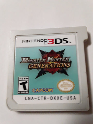 Monster Hunter Generations Used Nintendo 3DS Video Game