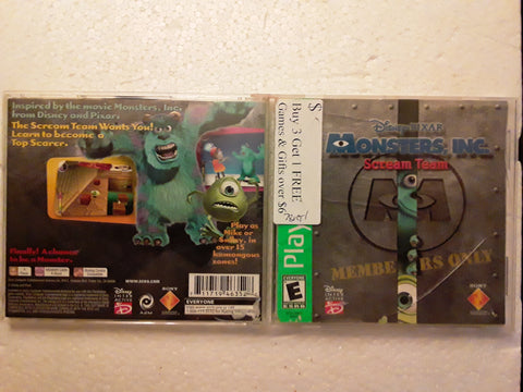 Monsters Inc. Used Playstation 1 Game