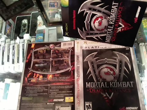 Mortal Kombat Deadly Alliance Used Original Xbox Video Game