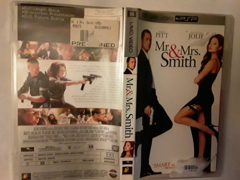 Mr and Mrs. Smith PSP Used UMD VIDEO MOVIE Angelina Jolie, Brad Pitt