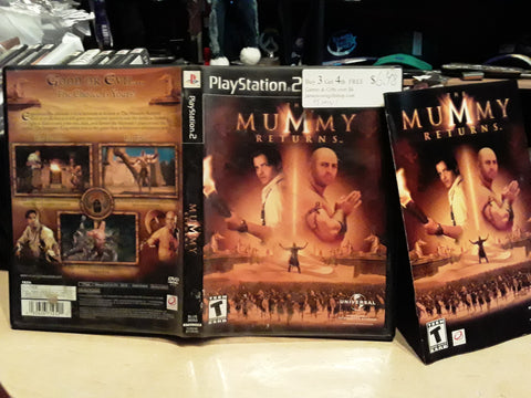 Mummy Returns USED PS2 Video Game