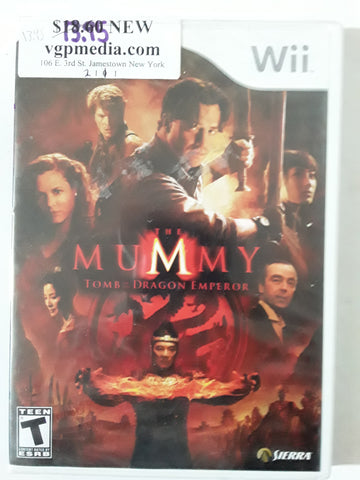 Mummy Tomb of the Dragon Emperor BRAND NEW Nintendo Wii Video Game
