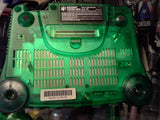N64 Jungle Green Clear System + Matching Controller FREE SHIPPING