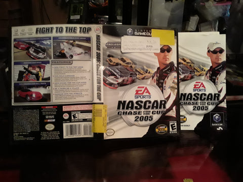 NASCAR 2005 Chase For The Cup Racing Used Nintendo Gamecube Video Game
