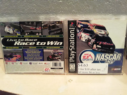 NASCAR 99 Racing Used Playstation 1 Game
