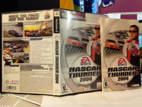 NASCAR Thunder 2004 Racing USED PS2 Video Game