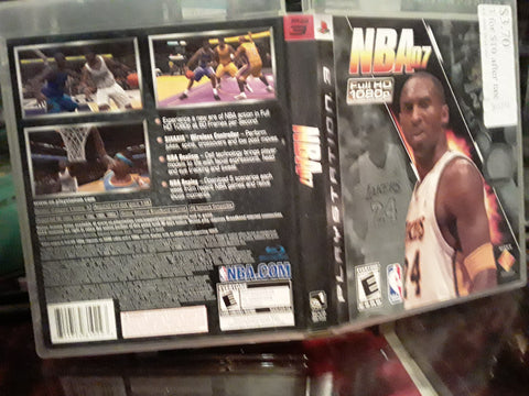 NBA 07 Kobe Bryant 2007 Basketball Used PS3 Video Game