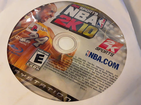 NBA 2K10 Basketball 2010 Used PS3 Video Game