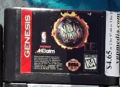 NBA Jam Used Sega Genesis Video Game