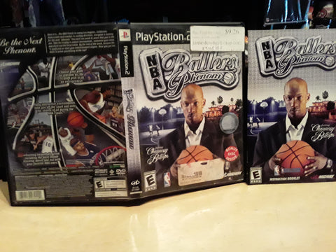 NBA Ballers Phenom Basketball USED PS2 Video Game