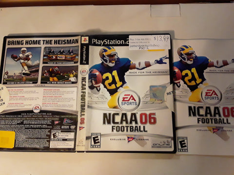 NCAA Football 06 USED PS2 Video Game