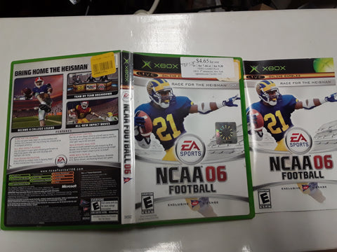 NCAA Football 06 Used Original Xbox Video Game