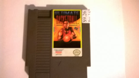 Ultimate Basketball USED NES Original Nintendo Game