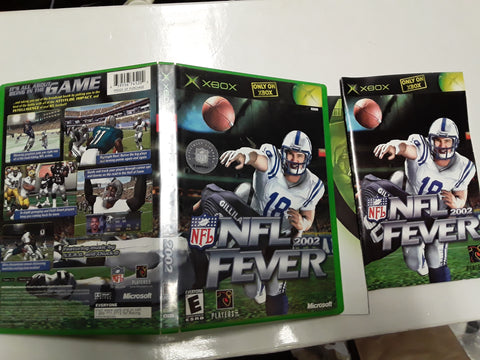 NFL Fever 2002 Football Used Original Xbox Video Game