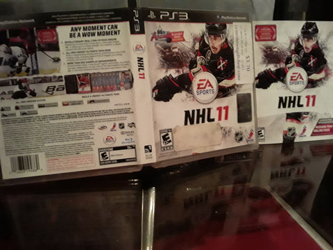 NHL 11 Hockey 2011 Used PS3 Video Game