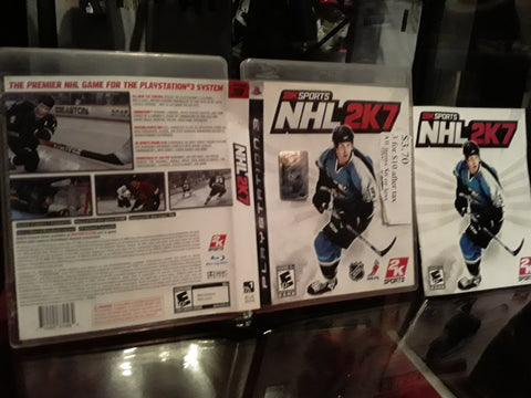 NHL 2K7 Hockey 2007 Used PS3 Video Game