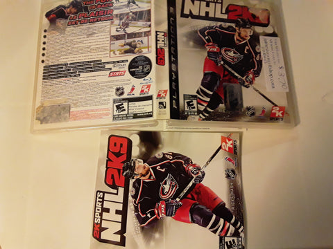 NHL 2K9 Hockey 2009 Used PS3 Video Game