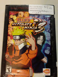 Naruto Ultimate Ninja 3 USED PS2 Video Game