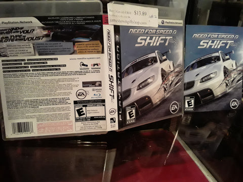 Need for Speed Shift 1 Racing Used PS3 Video Game