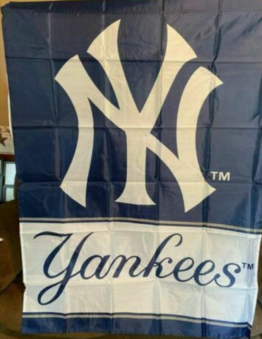 New York Yankees MLB 36x47 Banner Flag