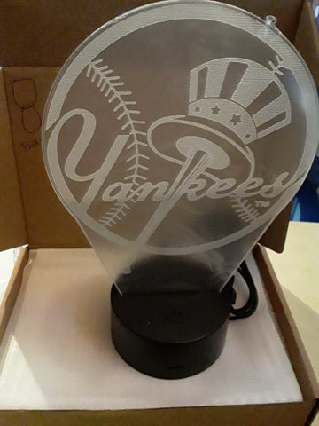 New York Yankees Logo MLB LED Light
