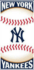 New York Yankees MLB Cotton 30x60 Beach Towel