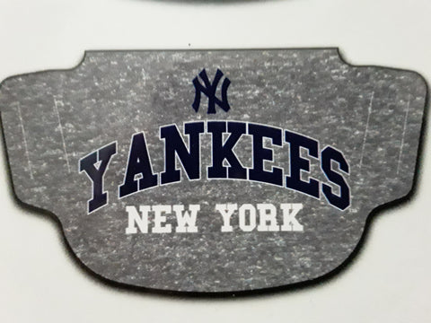 New York Yankees MLB Gray Fan Mask Face Covering