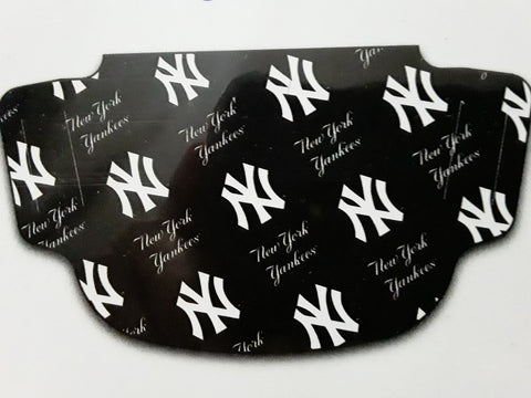 New York Yankees MLB Logos Fan Mask Face Covering