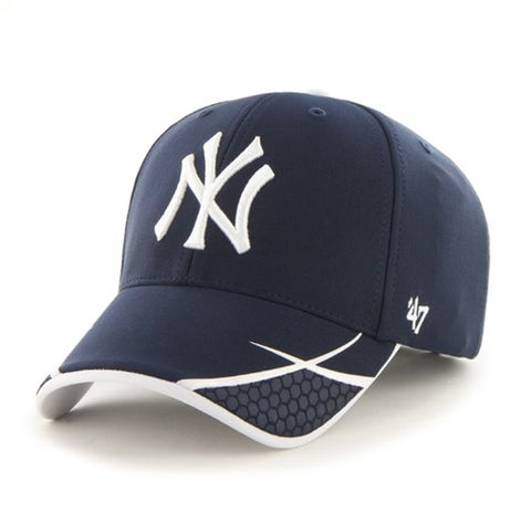 New York Yankees MLB Navy Sensei MVP Adjustable Cap Hat