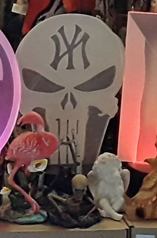 New York Yankees MLB Punisher Skull Color Changing LED Night Light