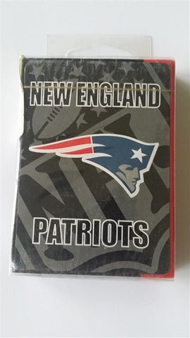 New England Patriots NFL Block Logo Playing Cards