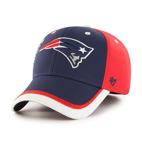 New England Patriots NFL Crash Line Contender Stretch Fit Hat