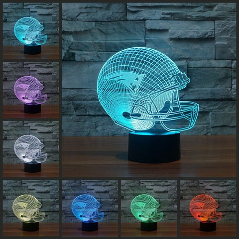 New England Patriots NFL LED Helmet Light