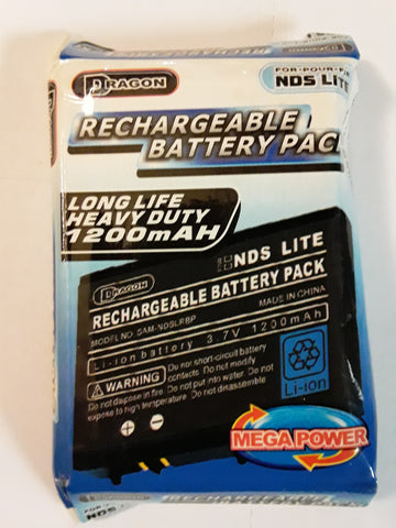 Nintendo DS-Lite Rechargeable Battery Pack BRAND NEW