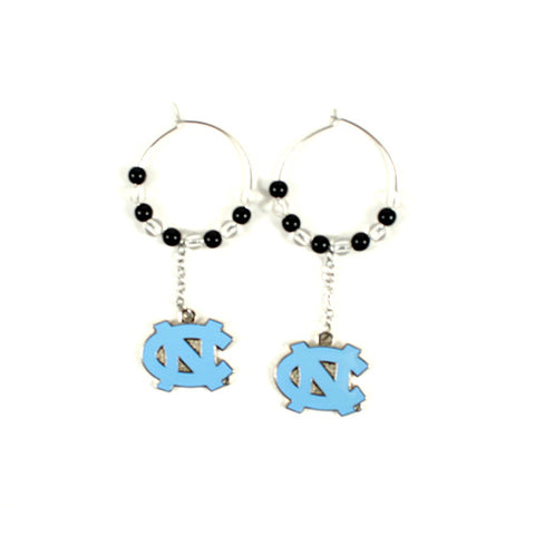 North Carolina Tarheels 32Oz NCAA Hoop Earrings