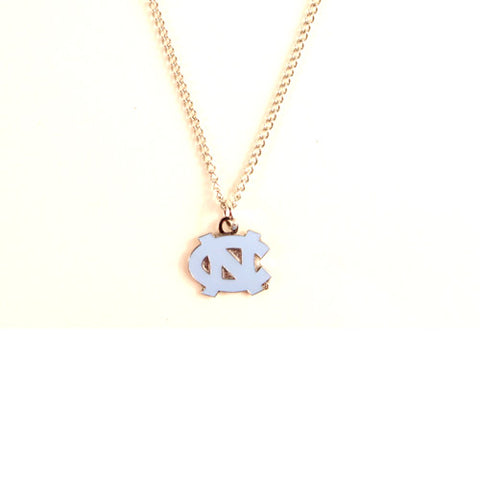 North Carolina Tarheels NCAA Chain Necklace