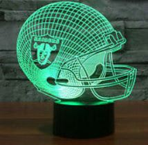 Oakland Raiders NFL LED Helmet Light