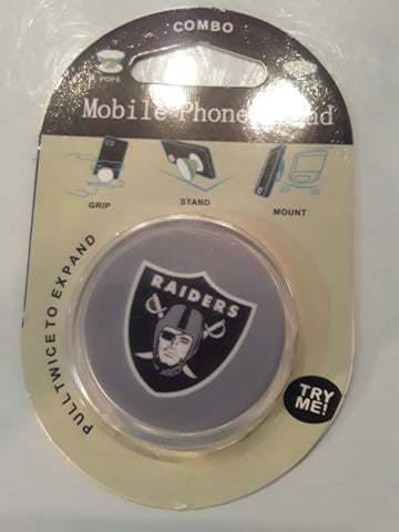 Oakland Raiders NFL Phone Stand Grip Holder
