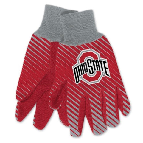 Ohio State Buckeyes NCAA Full Color Sublimated Gloves