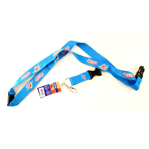 Oklahoma City Thunder NBA Key Chain Lanyard