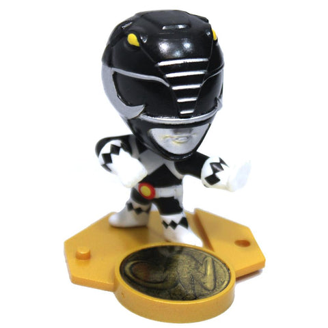 POWER RANGER UNITE 2x2 MINI COLLECTIBLE STAND BLACK RANGER  Figurine