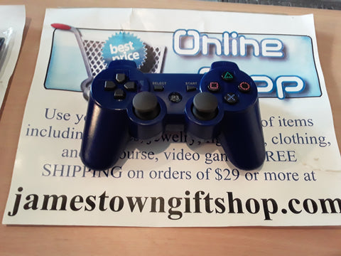 PS3 3rd Party Blue Wireless Controller USED