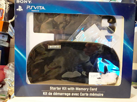 PS Vita Starter Kit With Memory Card NEW
