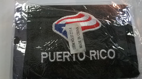 PUERTO RICO Flag Tri-Fold Wallets