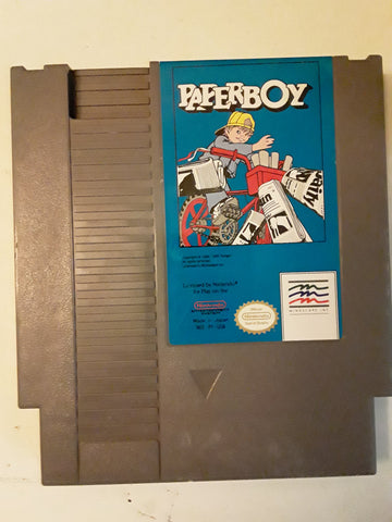 Paperboy NES Original Used Video Game