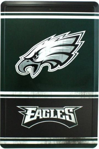 Philadelphia Eagles NFL 8x12 inch Tin Sign