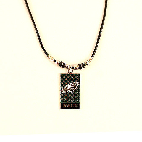 Philadelphia Eagles NFL Diamond Plate Necklace
