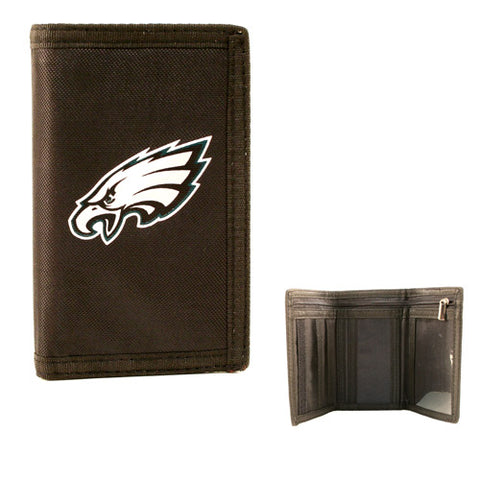 Philidelphia Eagles NFL Tri-Fold Nylon Wallet