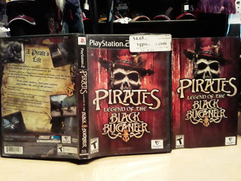 Pirates Legend of the Black Buccaneer USED PS2 Video Game