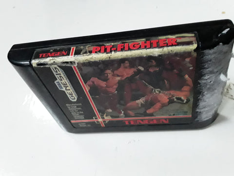 Pit-Fighter Used Sega Genesis Video Game